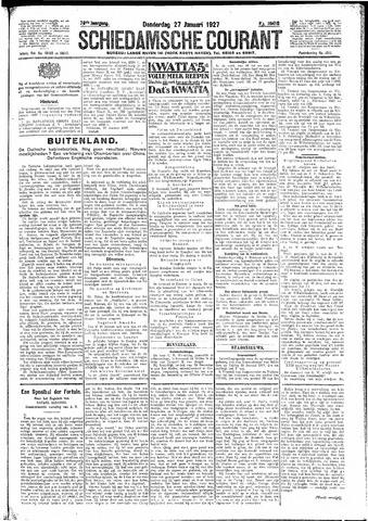 Schiedamsche Courant 1927-01-27