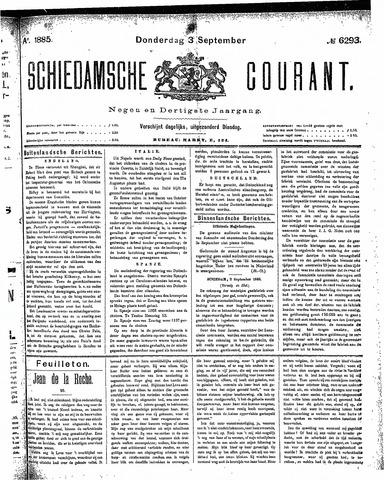 Schiedamsche Courant 1885-09-03