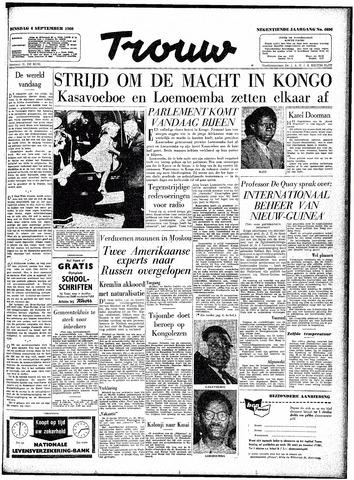 Trouw / De Rotterdammer 1960-09-06