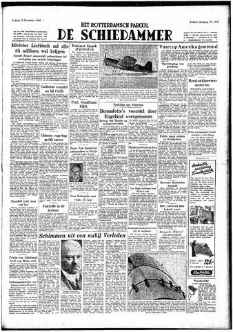 Rotterdamsch Parool / De Schiedammer 1948-11-19