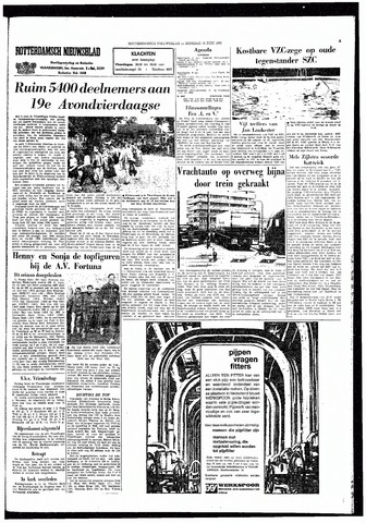 Rotterdamsch Nieuwsblad / Schiedamsche Courant / Rotterdams Dagblad / Waterweg / Algemeen Dagblad 1965-06-15