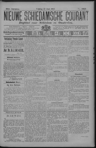 Nieuwe Schiedamsche Courant 1913-06-13