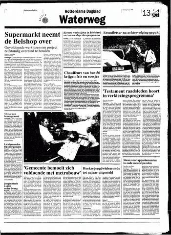 Rotterdamsch Nieuwsblad / Schiedamsche Courant / Rotterdams Dagblad / Waterweg / Algemeen Dagblad 1998-06-09