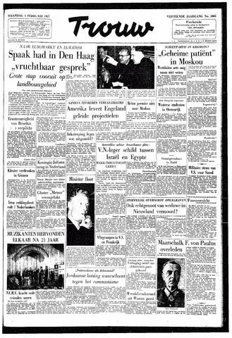 Trouw / De Rotterdammer 1957-02-04
