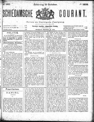 Schiedamsche Courant 1883-10-13