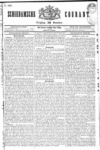 Schiedamsche Courant 1847-10-22