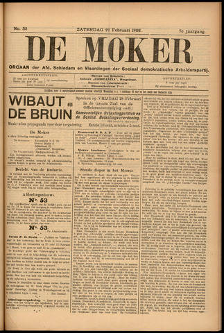 De Moker 1908-02-22