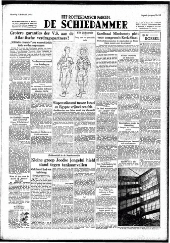 Rotterdamsch Parool / De Schiedammer 1949-02-21