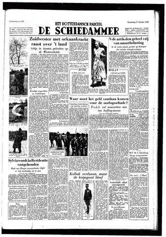 Rotterdamsch Parool / De Schiedammer 1949-10-27