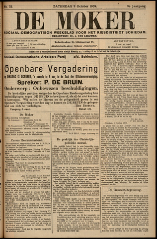 De Moker 1909-10-09