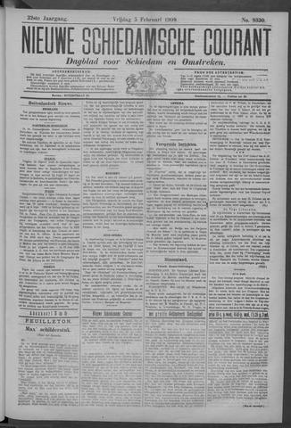 Nieuwe Schiedamsche Courant 1909-02-05