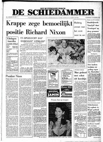 Rotterdamsch Parool / De Schiedammer 1968-11-07
