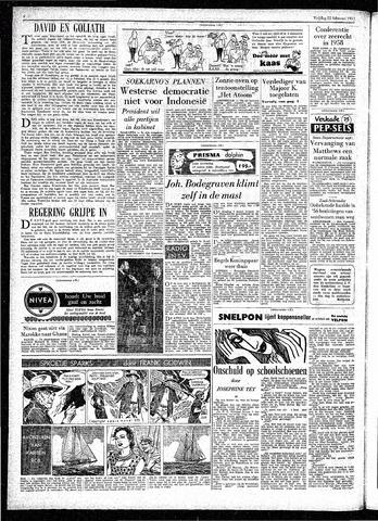 Rotterdamsch Parool / De Schiedammer 1957-02-22