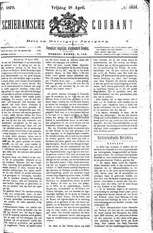 Schiedamsche Courant 1879-04-18