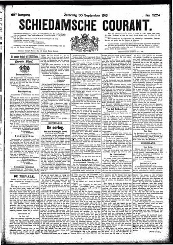 Schiedamsche Courant 1916-09-30