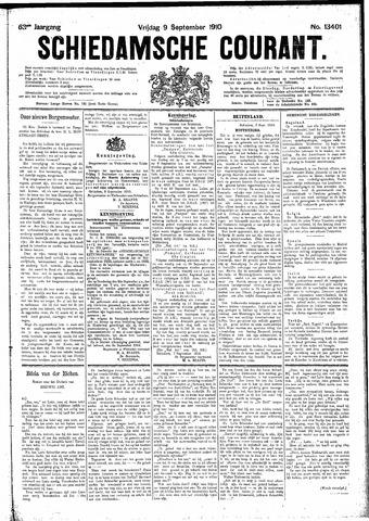 Schiedamsche Courant 1910-09-09