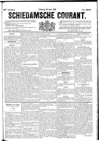 Schiedamsche Courant 1912-06-18
