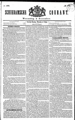 Schiedamsche Courant 1866-12-05
