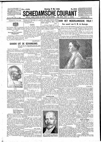 Schiedamsche Courant 1933-05-09