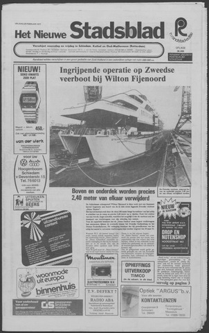 Het Nieuwe Stadsblad 1977-02-25