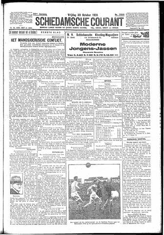 Schiedamsche Courant 1931-10-30