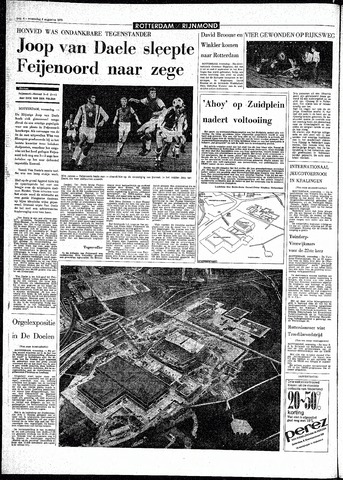 Rotterdamsch Parool / De Schiedammer 1970-08-05