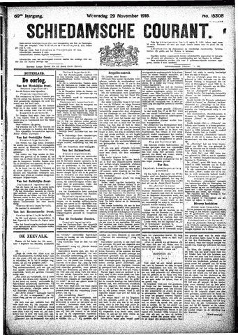 Schiedamsche Courant 1916-11-29