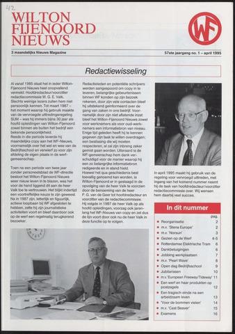 Wilton Fijenoord Nieuws 1995