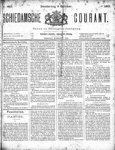 Schiedamsche Courant 1883-10-04