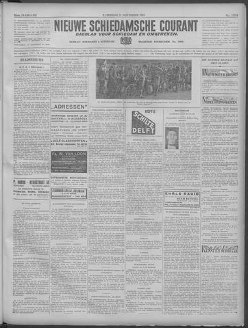 Nieuwe Schiedamsche Courant 1933-11-11