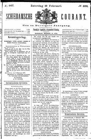 Schiedamsche Courant 1877-02-10