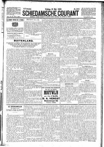 Schiedamsche Courant 1929-05-31