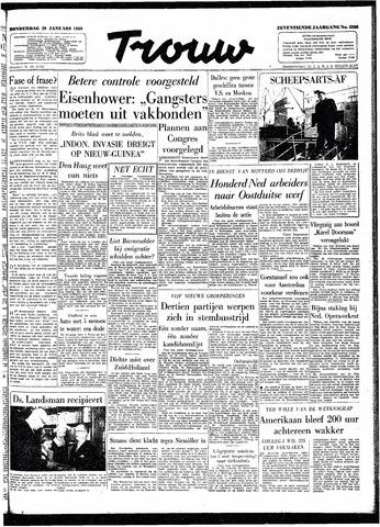 Trouw / De Rotterdammer 1959-01-29