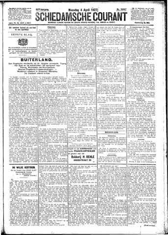 Schiedamsche Courant 1927-04-04