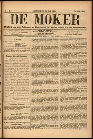 De Moker 1908-07-25