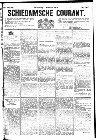 Schiedamsche Courant 1908-02-12