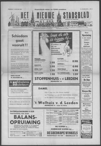 Het Nieuwe Stadsblad 1955