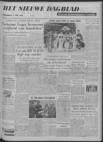 Nieuwe Schiedamsche Courant 1962-06-07