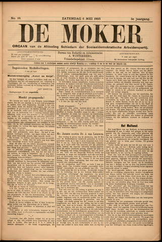 De Moker 1905-05-06