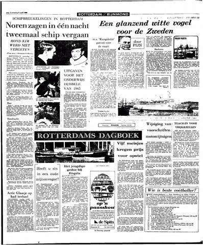 Rotterdamsch Parool / De Schiedammer 1966-04-09