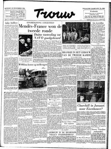 Trouw / De Rotterdammer 1954-12-28