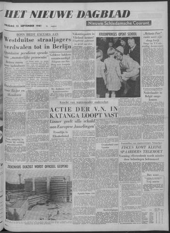 Nieuwe Schiedamsche Courant 1961-09-15