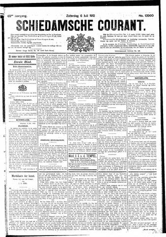 Schiedamsche Courant 1912-07-06