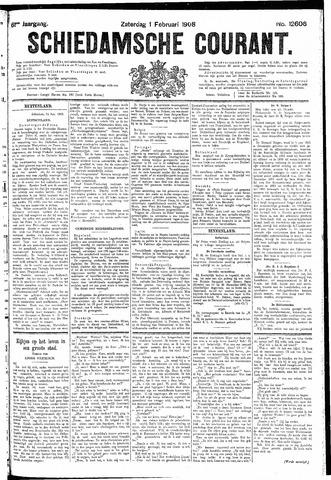 Schiedamsche Courant 1908-02-01