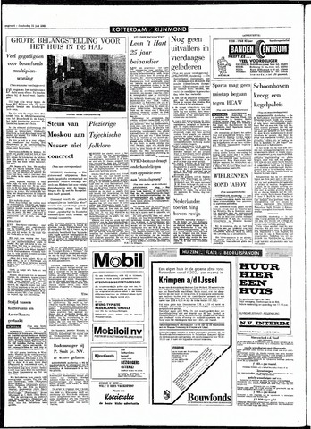 Rotterdamsch Parool / De Schiedammer 1968-07-11