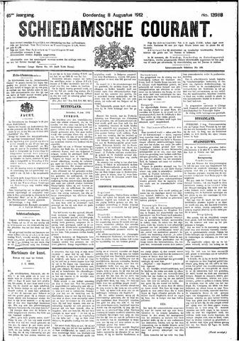 Schiedamsche Courant 1912-08-08