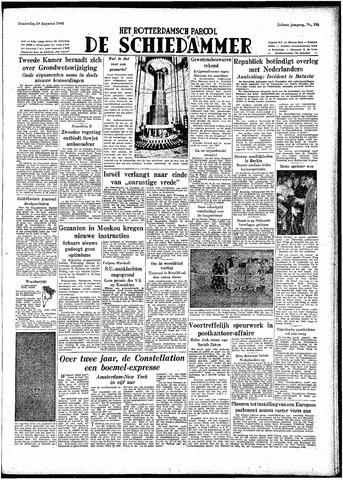 Rotterdamsch Parool / De Schiedammer 1948-08-19