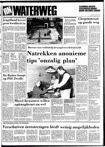 Rotterdamsch Nieuwsblad / Schiedamsche Courant / Rotterdams Dagblad / Waterweg / Algemeen Dagblad 1983-04-05