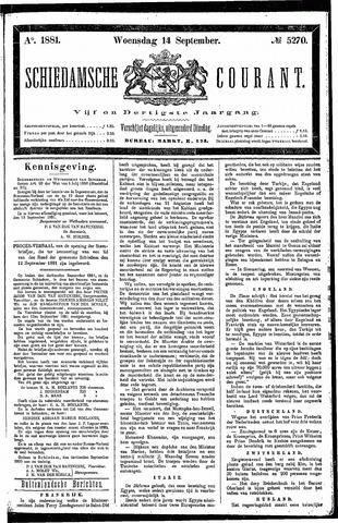Schiedamsche Courant 1881-09-14