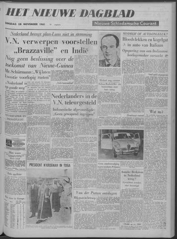 Nieuwe Schiedamsche Courant 1961-11-28